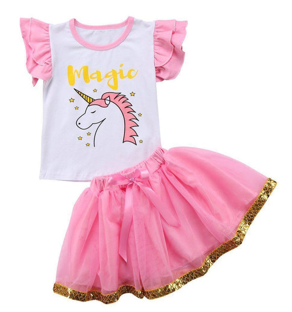 Magic unicorn 2 piece set-outfit-Lavendersun