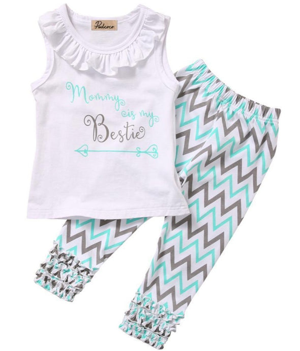 Mommy is my bestie outfit product image - Lavendersun