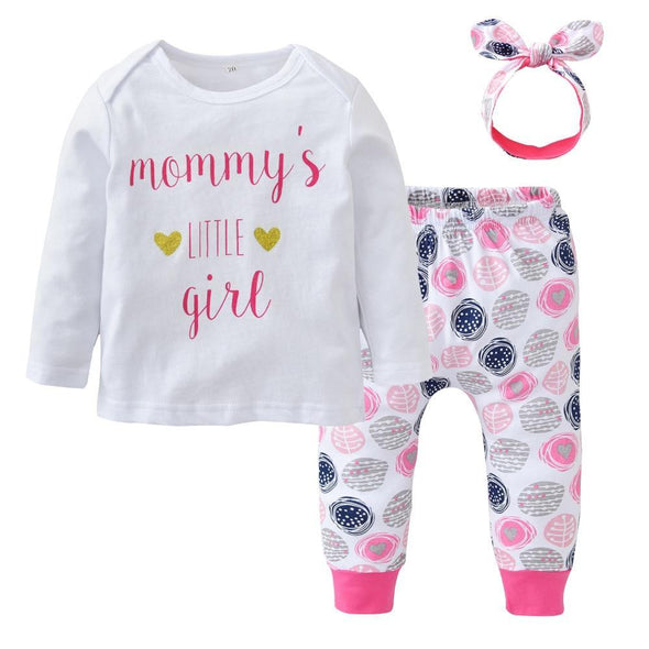 Mommy Little Girl Outfit-outfit-Lavendersun