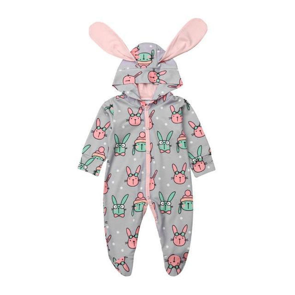 Mr And Mrs Bunny Pajama-Lavendersun