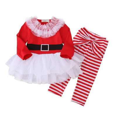 Mrs Clause 2 Piece Set-outfit-Lavendersun
