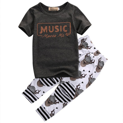 Music Moves Me 2 Piece Set-outfit-Lavendersun