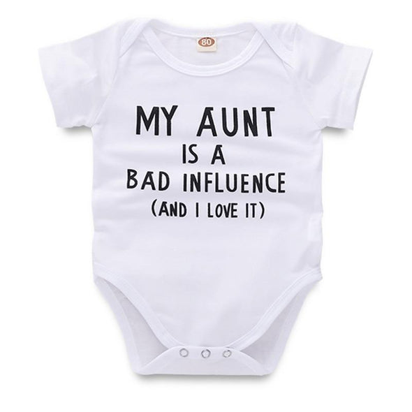 My Aunt Is A Bad Influence And I Love It Onesie-onesie-Lavendersun