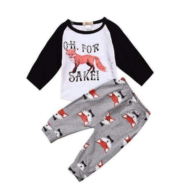Oh For Fox Sake 2 Piece Set-outfit-Lavendersun