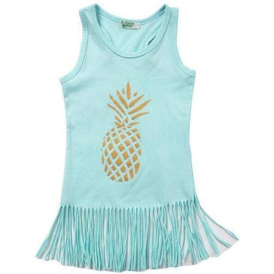 Pineapple dress-dress-Lavendersun