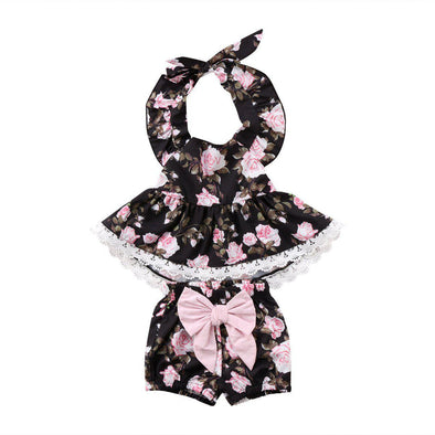 Pink and black outfit product image - Lavendersun