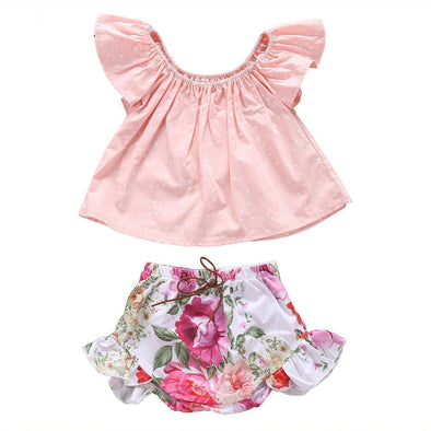 Pink Chick 2 Piece Set-outfit-Lavendersun