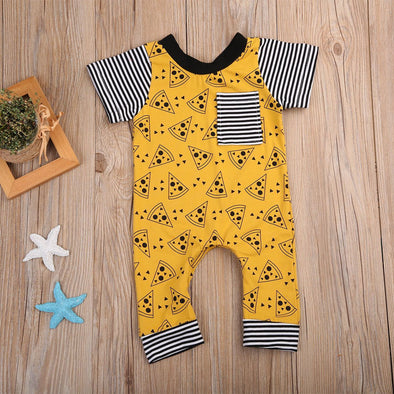 Pizza tuesday romper product image - Lavendersun