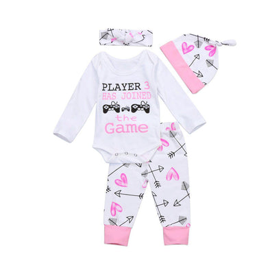 Player 3 Has Joined The Game 4 Piece Set-outfit-Lavendersun