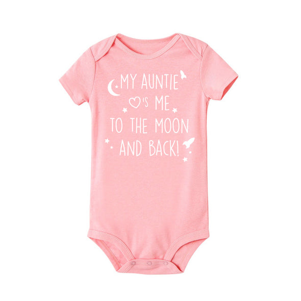 My auntie loves me to the moon and back onesie