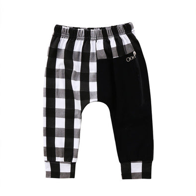 Checkered Toddler Pants