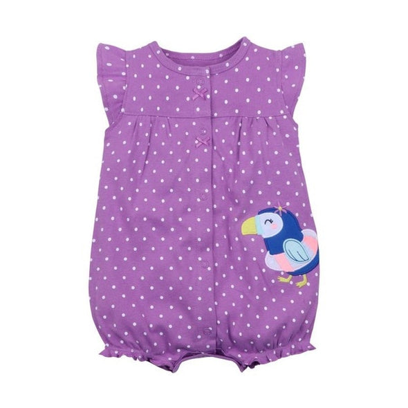 Summer penguin romper