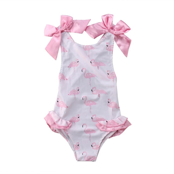 Angelic flamingo swimsuit