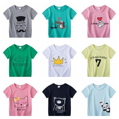 Super Cute Print Toddler Shirts