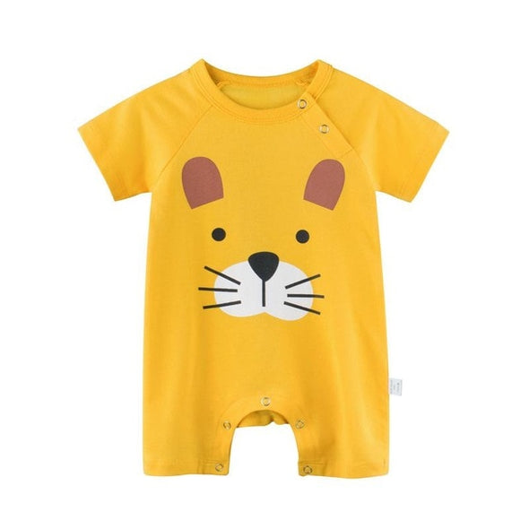 Yellow puppy romper