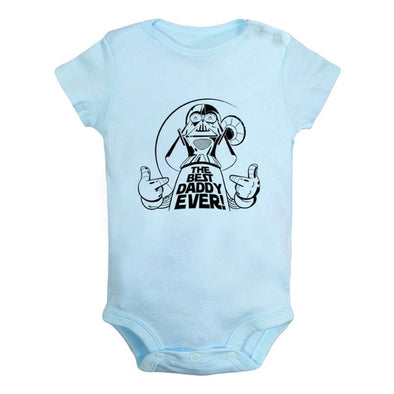 Blue the best daddy ever onesie