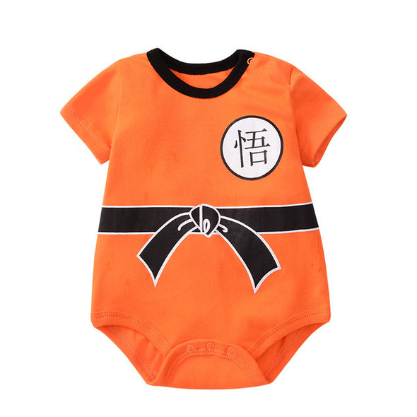 Sleeve goku training onesie