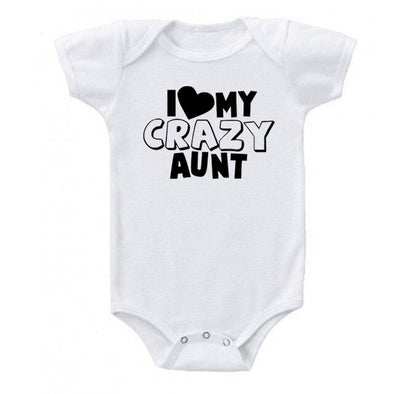 I love my crazy aunt onesie