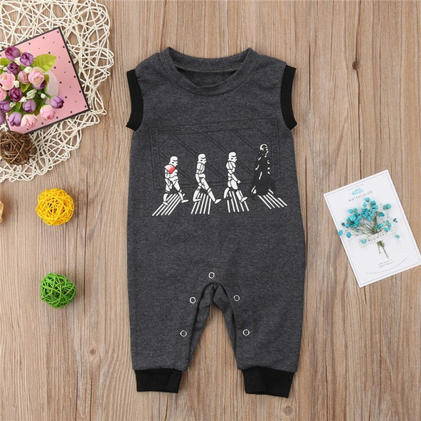 Dark side Starwars romper