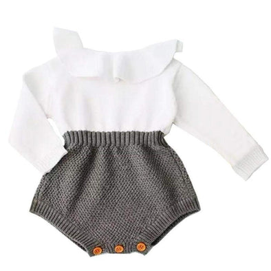 Simple wool onesie outfit product image - Lavendersun