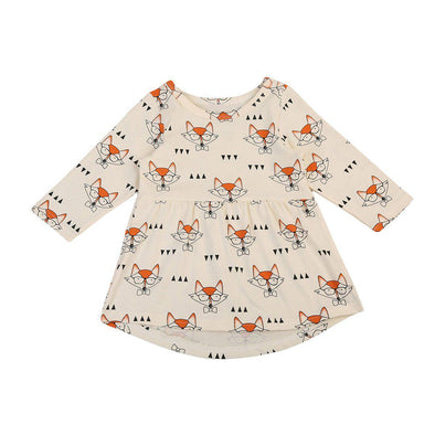 Smartpants fox dress product image - Lavendersun
