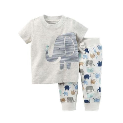 Soloman The Elephant 2 Piece Set-outfit-Lavendersun