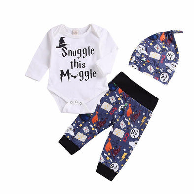Spooky Smuggle This Muggle 3 Piece Set-outfit-Lavendersun