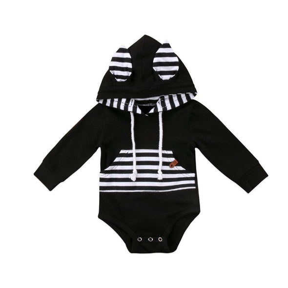 Striped zebra onesie product image - Lavendersun