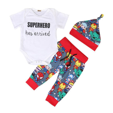 Superhero has arrived outfit product image - Lavendersun