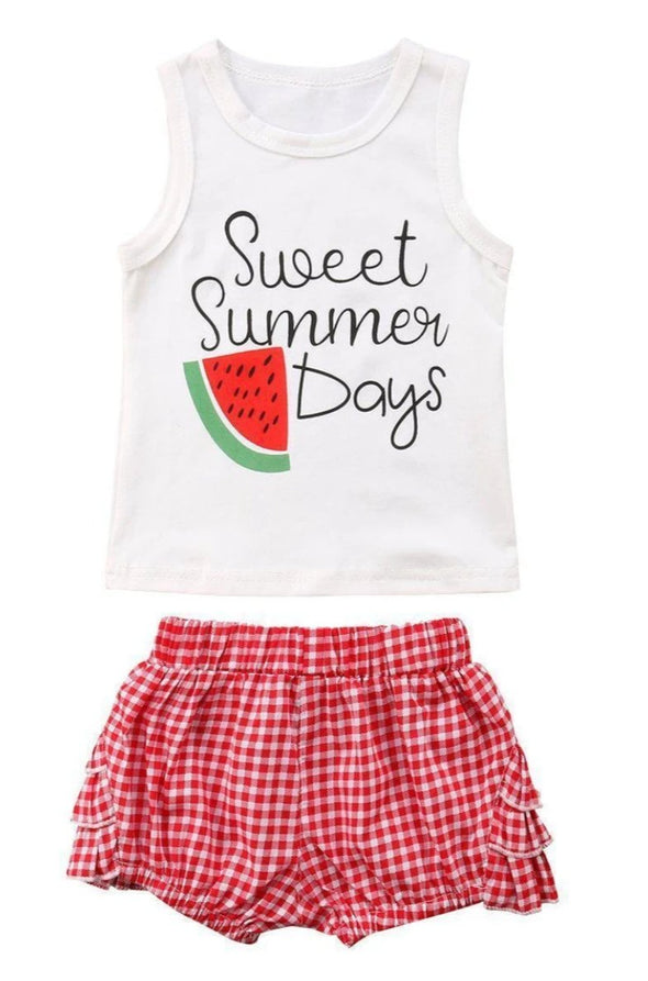 Sweet summer days 2 piece set-outfit-Lavendersun