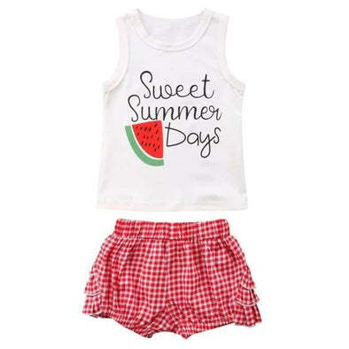 Sweet Summer Days Baby Outfit