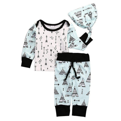 The Baby Tribe 3 Piece Set-outfit-Lavendersun