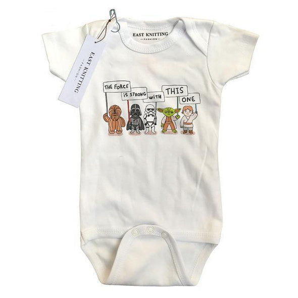 The Force Is Strong With This One Onesie-onesie-Lavendersun