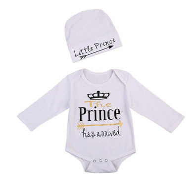 The prince has arrived onesie-onesie-Lavendersun