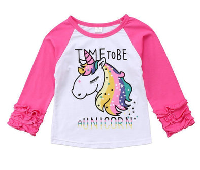 Time To Be A Unicorn Shirt-shirt-Lavendersun