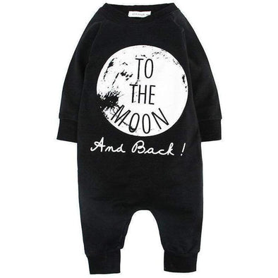 To The Moon And Back Romper-romper-Lavendersun
