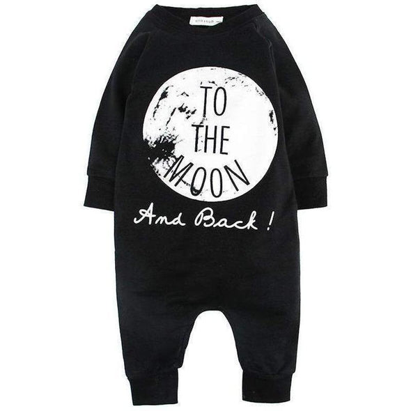 to the moon and back romper product image - Lavendersun