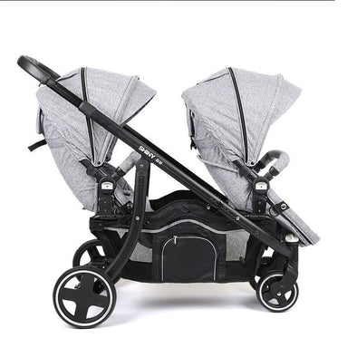 Twin Double Stroller-prams-Lavendersun