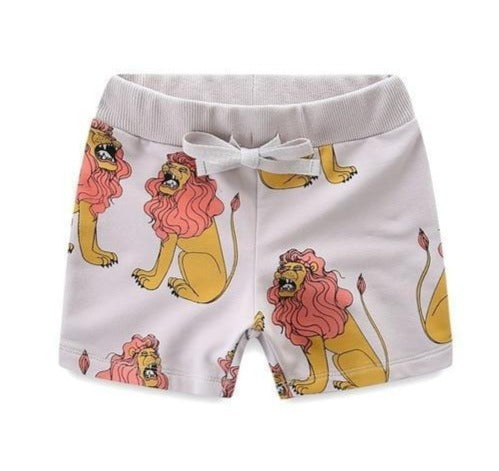 Weird Lion Short-pant-Lavendersun