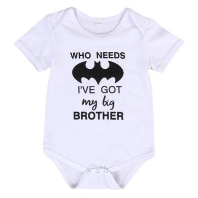 Who Needs Batman I've Got My Big Brother Onesie-onesie-Lavendersun