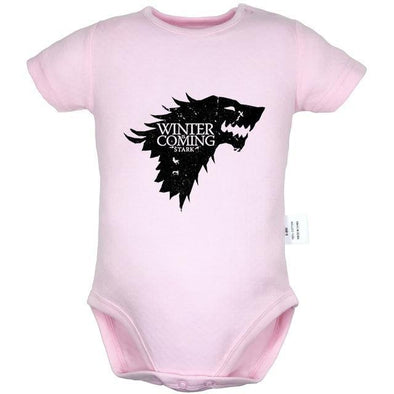 Winter Coming Stark Game Of Thrones Onesies-onesie-Lavendersun