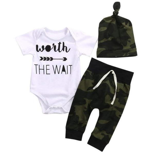 Worth The Wait outfit-0-3 months product image - Lavendersun