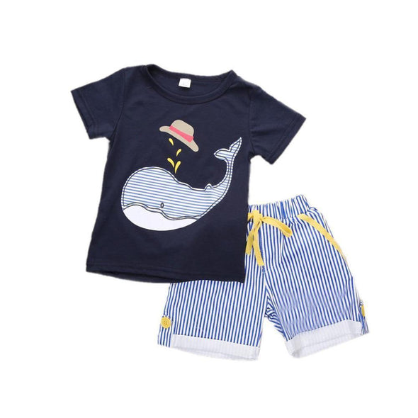 Yeeha Whale 2 Piece Set-outfit-Lavendersun