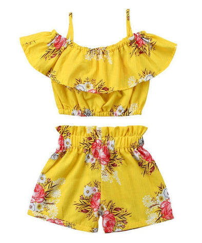 Yellow Class 2 Piece Set-outfit-Lavendersun