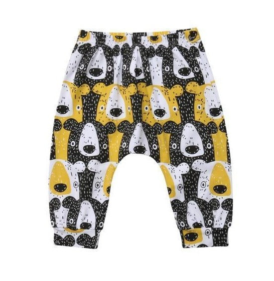 Yellow Curious Teddy Pant-pant-Lavendersun
