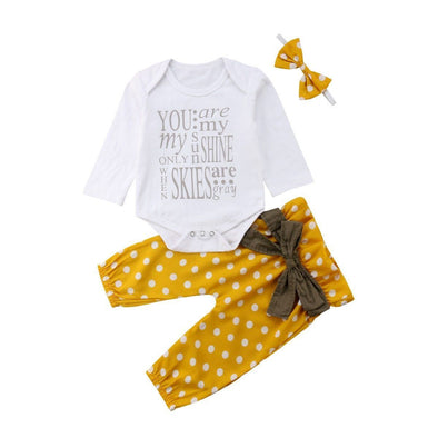 You Are My Sunshine 3 Piece Set-outfit-Lavendersun