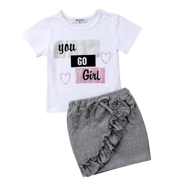 You go girl outfit product image - Lavendersun