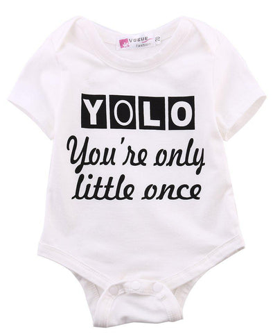 You're only little once onesie product image - Lavendersun