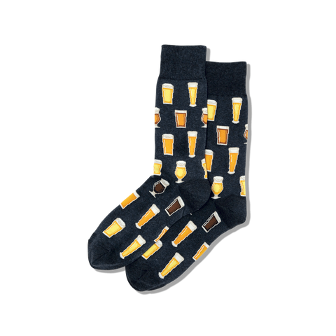 Men's Beer Crew Sox
