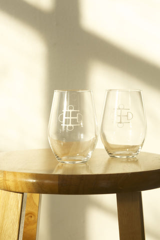 TBE Stemless Wineglasses